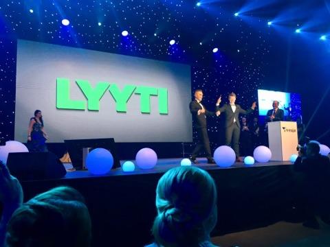Lyyti Oy palkittiin Valtakunnallisella yrittäjäpalkinnolla 2018