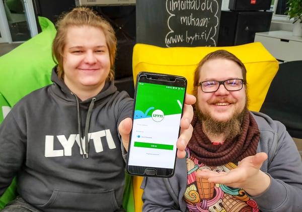 Antti, itseoppinut mobiilikehittäjä
