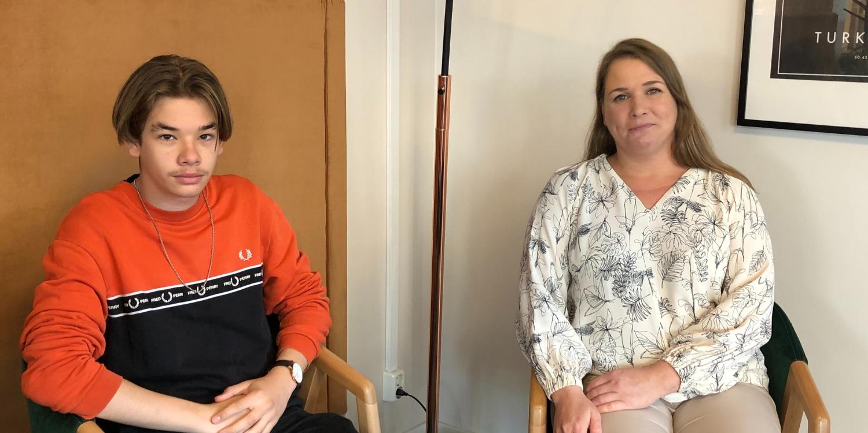 TET-päivän aikana Krister haastatteli äitiään, joka on Lyyti käyttäjä