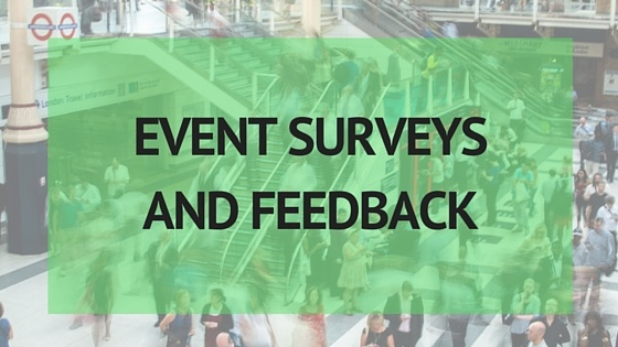Event Surveys and Feedback