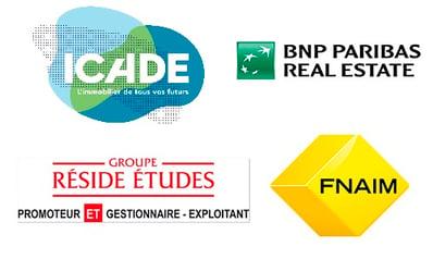 immobilier ICADE BNP FNAIM